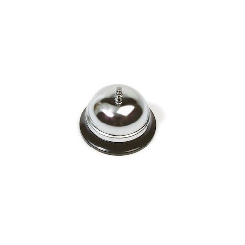 Exxent Ringklocka förkromad, Ø 8,5cm