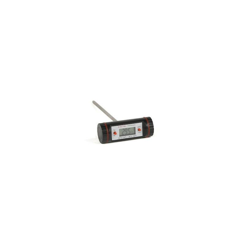 Xantia Digital köttermometer, svart, 15 cm