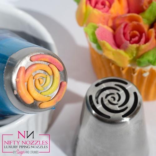 Nifty Nozzles Tyll 10 Petal Rose