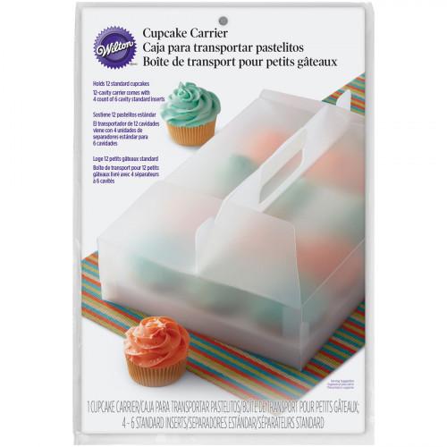 Wilton Cupcake låda i plast