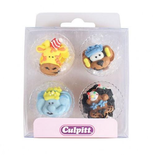 Culpitt Sockerdekorationer Party Animals