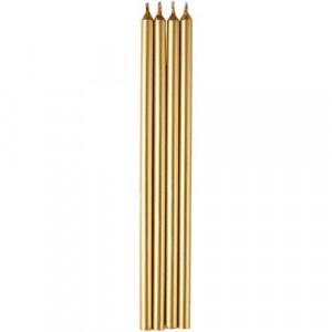 Wilton Tårtljus i guld, 15 cm