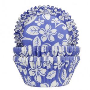 House of Marie Muffinsform Aloha Flower, blå