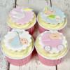 FMM Utstickare Adorable Baby Set