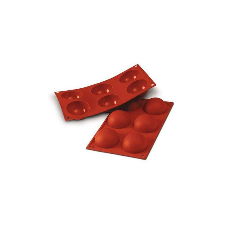 Silikomart Silikonform Semisfär, 6 cm