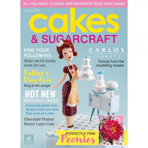 Squires Kitchen Cakes & Sugarcraft juni-juli 2017