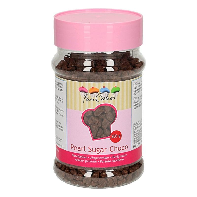 FunCakes Pearl Sugar Choco, Chokladpärlor