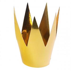 Krona i papper, guld