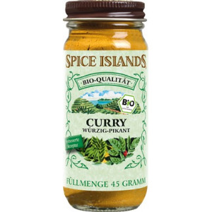 Spice Islands Curry, ekologisk