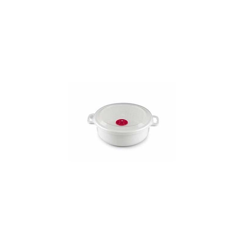 Microskål och lock med ventil 1,5L