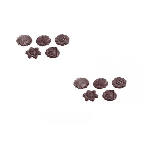 Chocolate World Pralinform Blommor