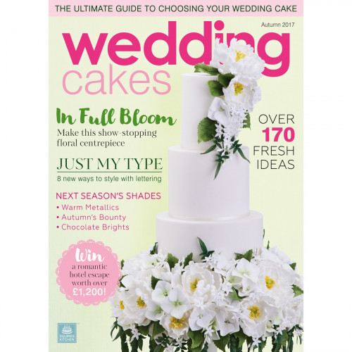 Squires Kitchen Wedding Cakes nr 64, höst 2017