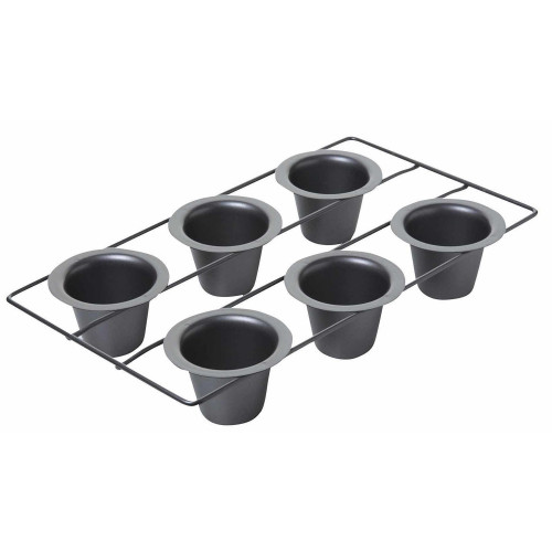 Chicago Metallic Non-Stick Six Hole Popover / Muffin Pan