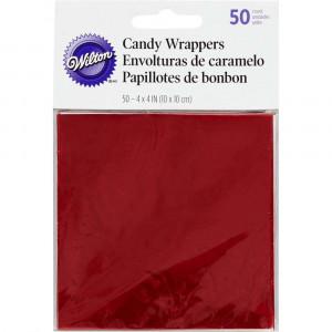 Wilton Candy Wrappers Godispapper, Röd