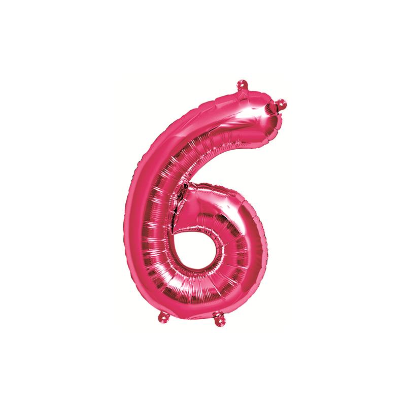 Northstar Sifferballong 6, rosa