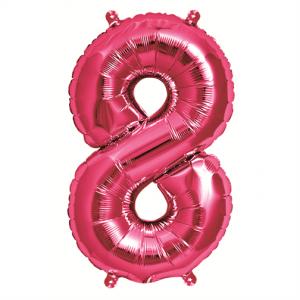Northstar Sifferballong 8, rosa