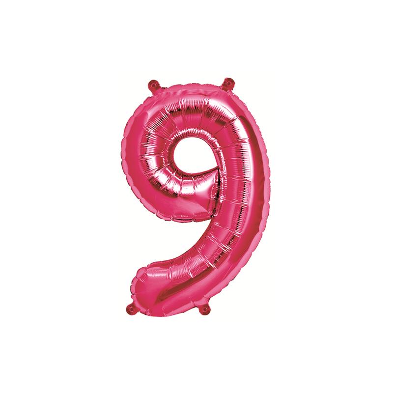Northstar Sifferballong 9, rosa