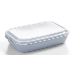 Nordiska Plast Matlåda 1,1 L, Ljusblå