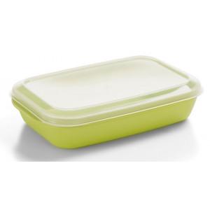 Nordiska Plast Matlåda 1,1 L, Ljusgrön