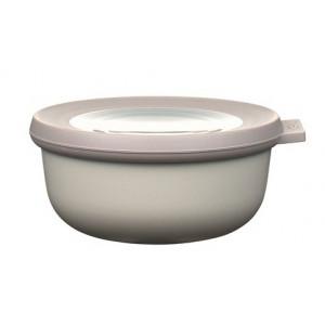 Rosti Mepal Skål med lock Cirqula, 0,35 l, vit