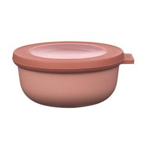 Rosti Mepal Skål med lock Cirqula, 0,35 l, rosa