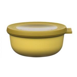 Rosti Mepal Skål med lock Cirqula, 0,35 l, senapsgul