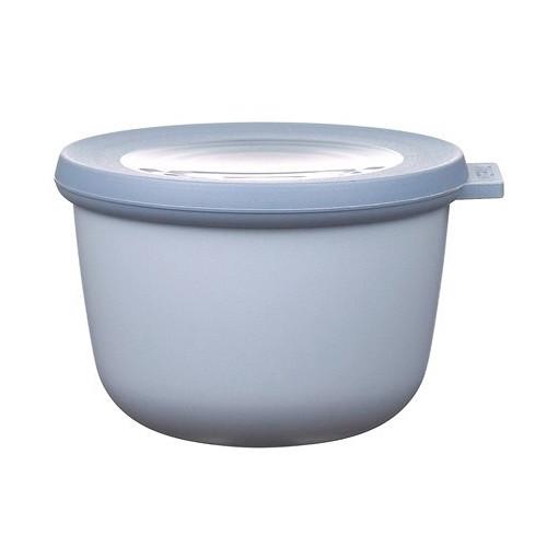 Rosti Mepal Skål med lock Cirqula, 0,5 l, blå