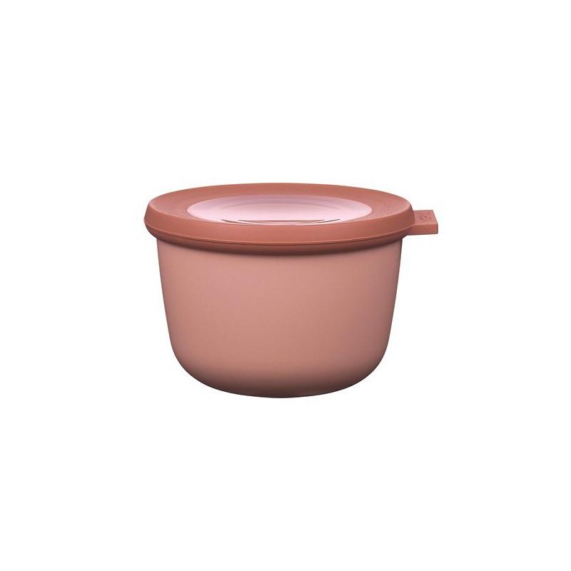 Rosti Mepal Skål med lock Cirqula, 0,5 l, rosa