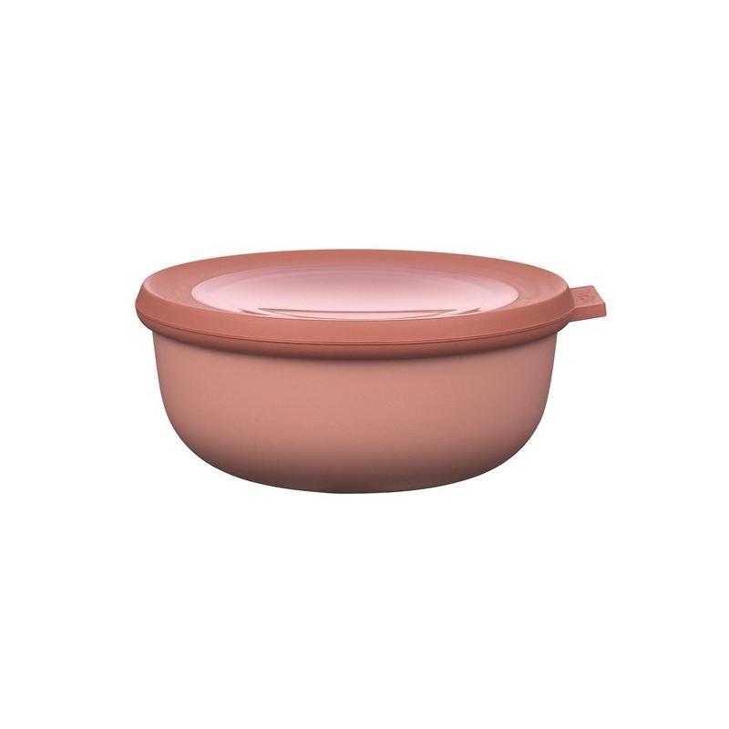 Rosti Mepal Skål med lock Cirqula, 0,75 l, rosa