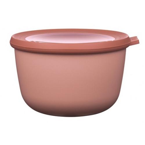 Rosti Mepal Skål med lock Cirqula, 1 l, rosa