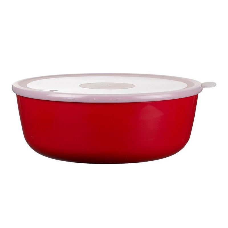 Rosti Mepal Skål med lock 2 l, Volumia, Röd