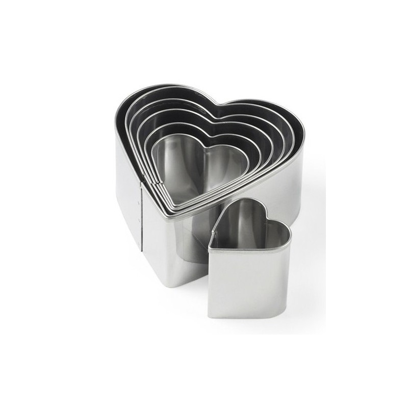 Blomsterbergs Utstickare Hjärta, 7 st