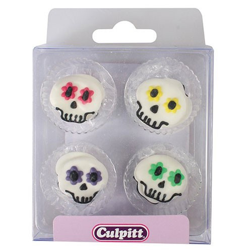 Culpitt Sockerdekorationer Sugar Skull