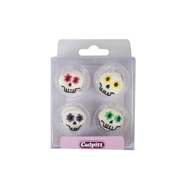 Culpitt Sockerdekorationer Sugar Skull