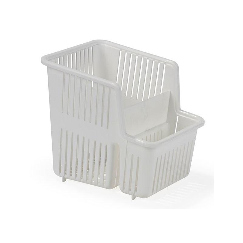 Nordiska Plast Bestickkorg, vit