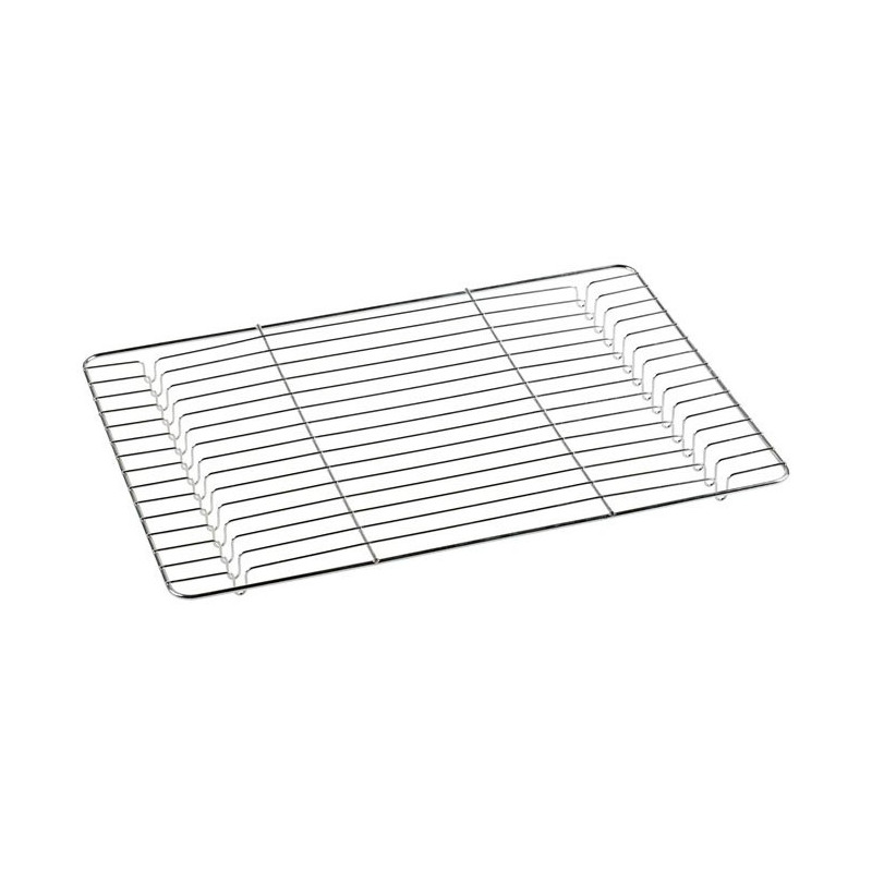 Metaltex Bakgaller 45 x 32 cm, krom