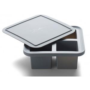 Bitz Isform med lock, 4 fack, silikon