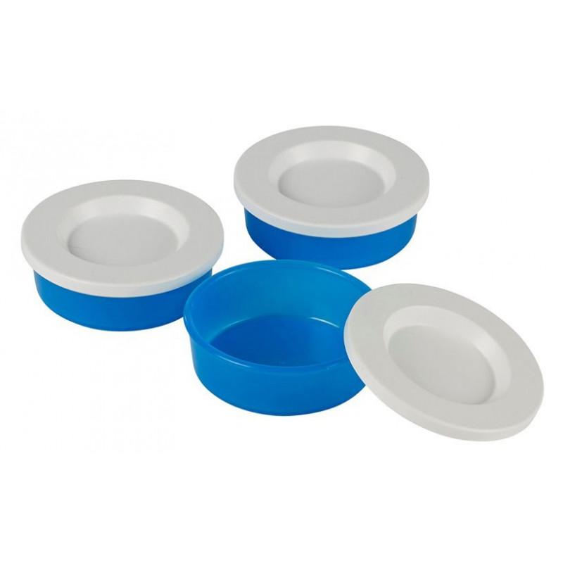 Rosti Mepal Miniburk ToGo, 3 st, blå