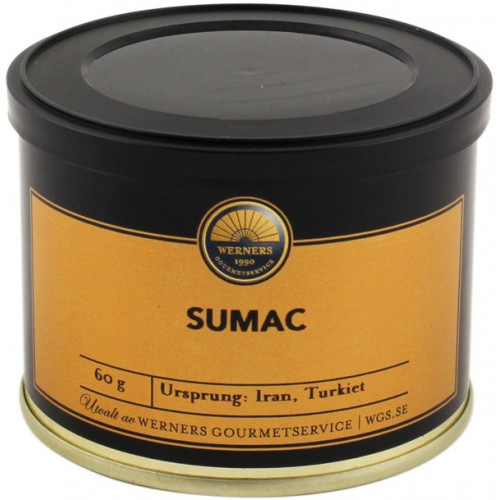 Werners Gourmetservice Sumac, 60 gram