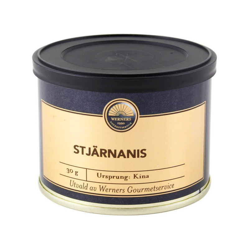 Werners Gourmetservice Stjärnanis, 30 g