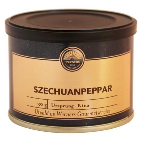 Werners Gourmetservice Szechuanpeppar, 30 g