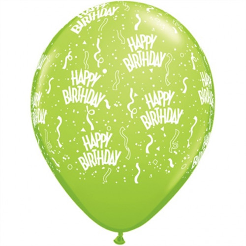 Qualatex Ballonger Happy Birthday