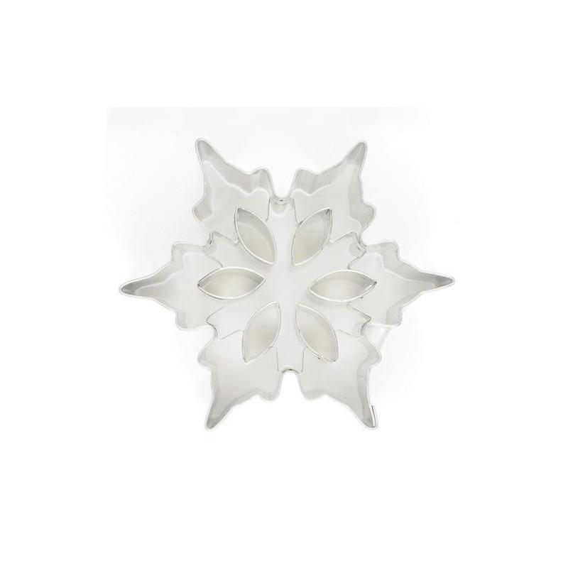 Utstickare Snöflinga, metall, 7,5 cm