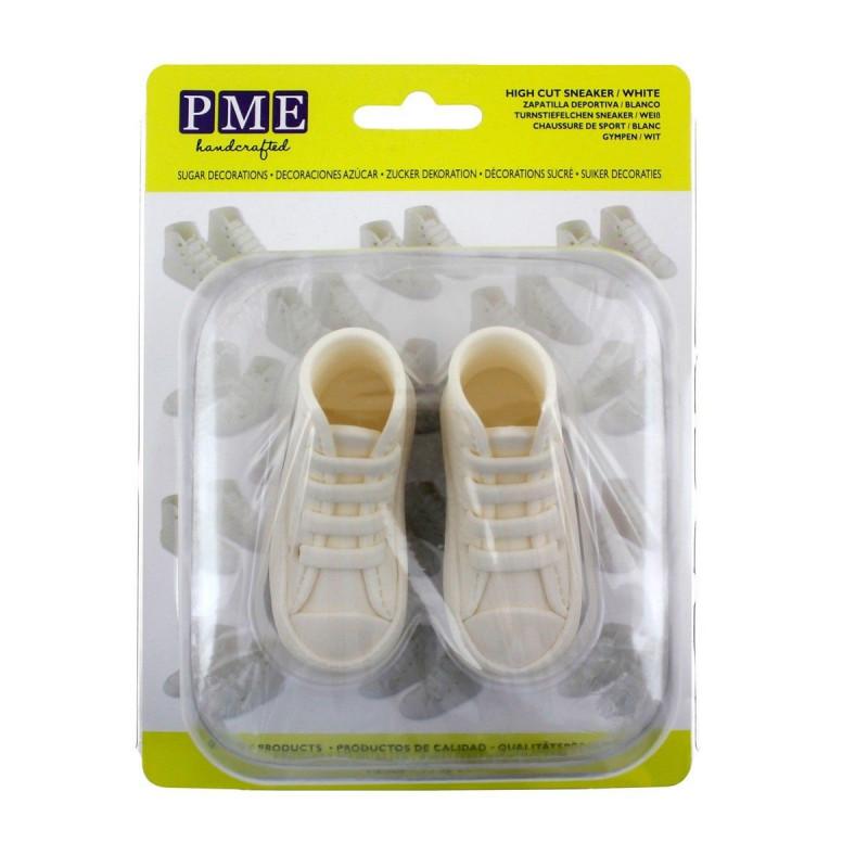 PME Tårtdekoration Ätbara Sneakers, vita