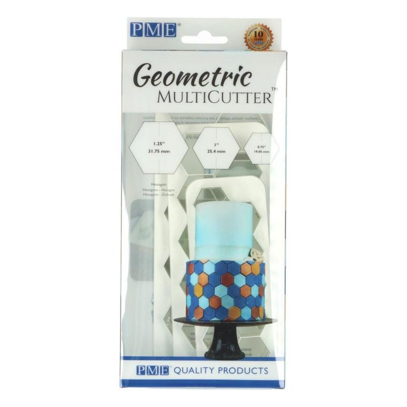 PME Utstickare Multicutter Hexagon, set, 3 st