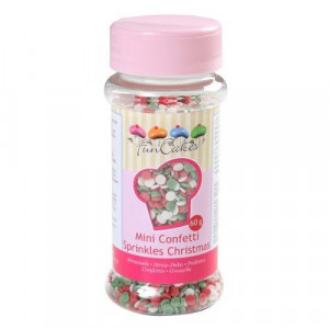 FunCakes Strössel Mini Confetti Christmas