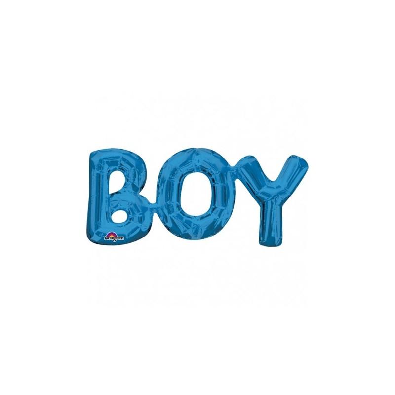 Anagram SuperShape Ballong, Boy, blå