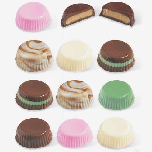 Wilton Candy Mold, godisform i plast, Peanut Butter Cups