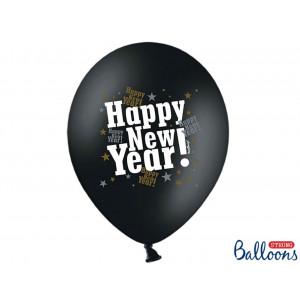 PartyDeco Ballonger Happy New Year