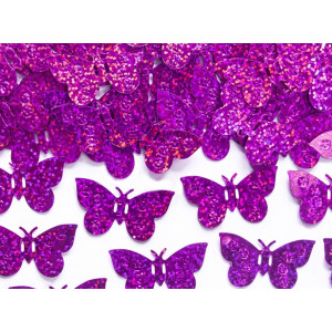PartyDeco Konfetti Fjärilar, rosa